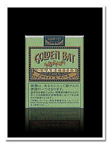 GOLDEN BAT(ゴールデンバット) 煙草パッケージ画像  GOLDEN BAT(ゴールデン